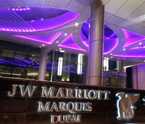 Marriot sign